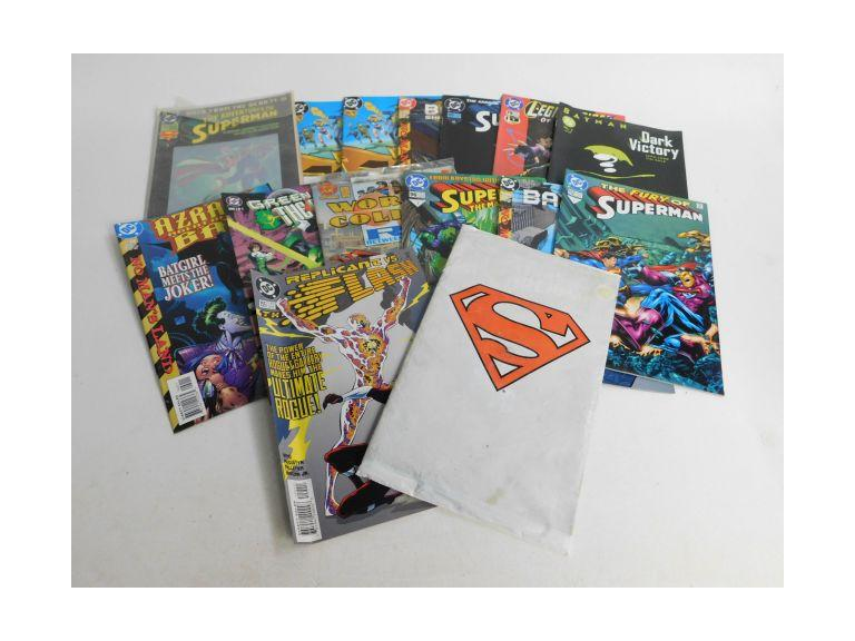 Collection of DC Comic Books