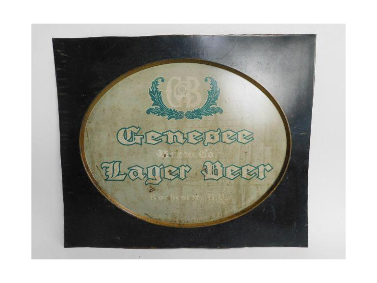 Genesee Lager Beer Metal Sign