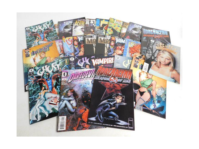 Collection of Modern Comic Books