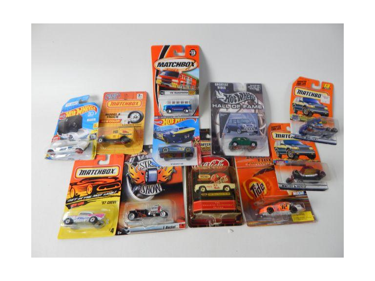 Collection of Hot Wheels and Matchbox Cars