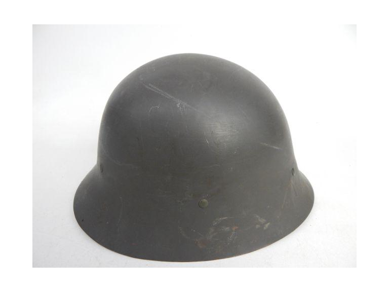 Old Military Steel Helmet with Liner