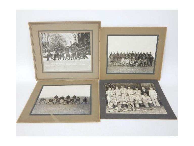 Collection of 1930's Sports Team Photographs