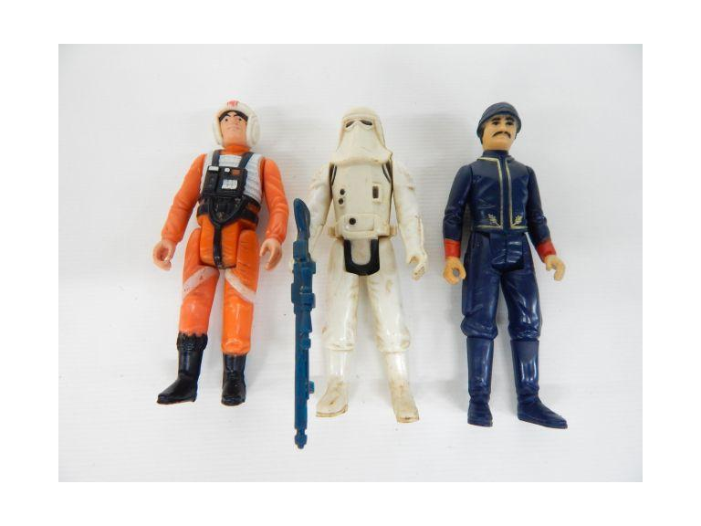 1980 Star Wars Imperial and Rebel Force Figures