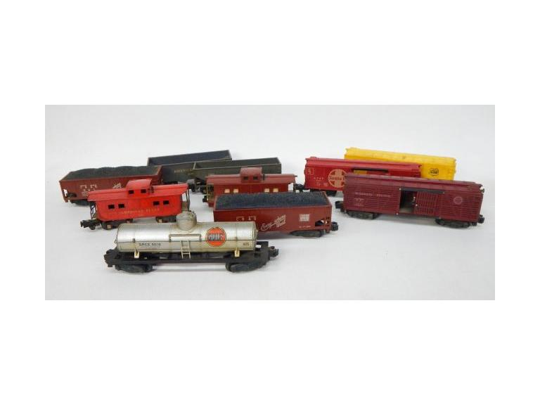 American Flyer S scale Train Cars