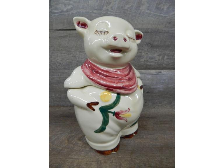 McCoy Smiley Pig Cookie Jar