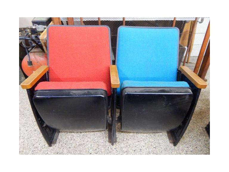 Old Set of Theater Seats