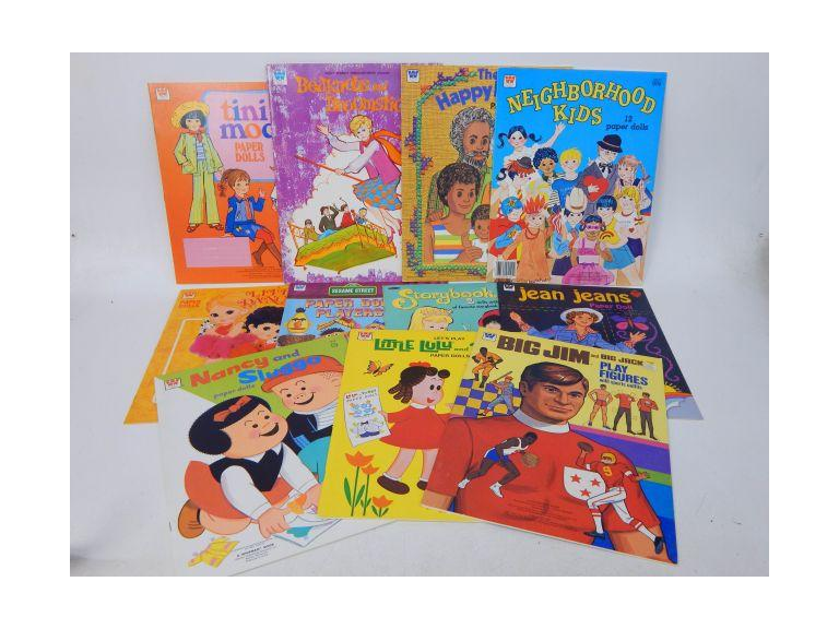 Collection of Whitman Paper Doll Books