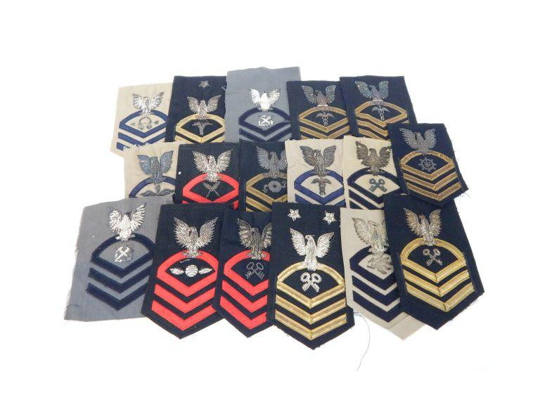 Collection of Military Shoulder Patches