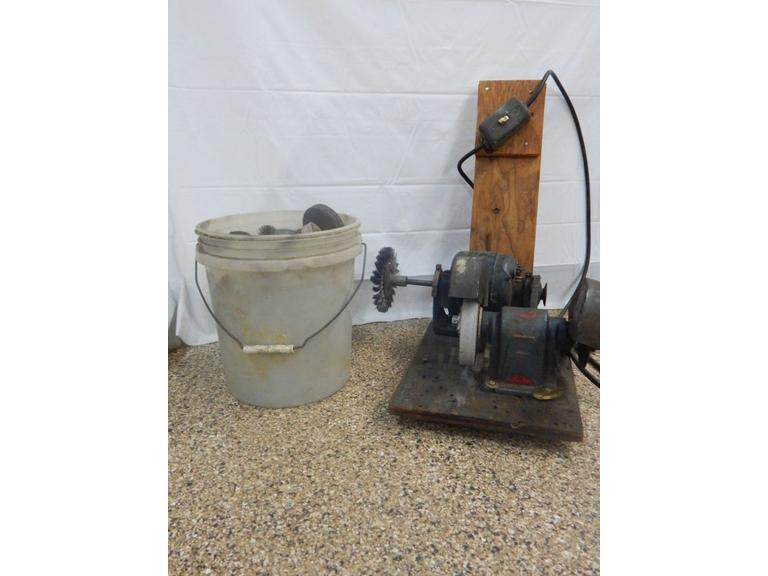 Hand Crafted Electric Grinding Wheel