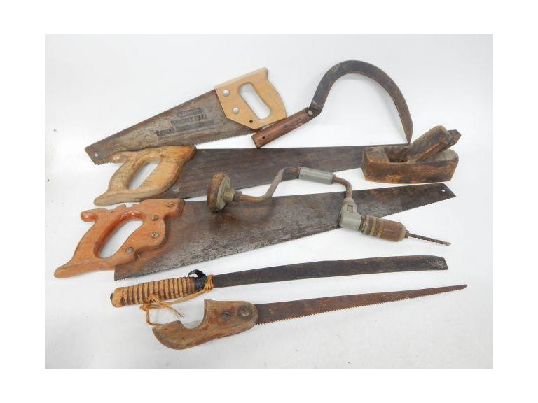 Old and Antique Hand Tools