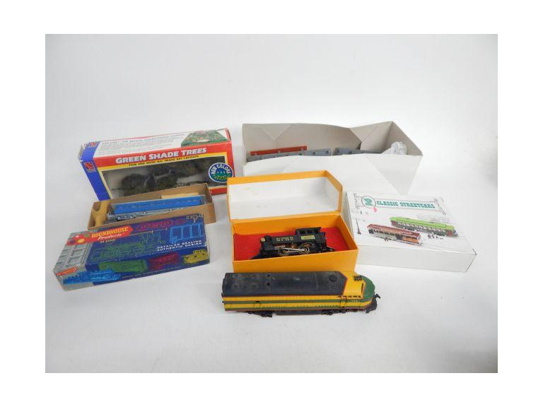 HO Scale Train Accessories with Engines