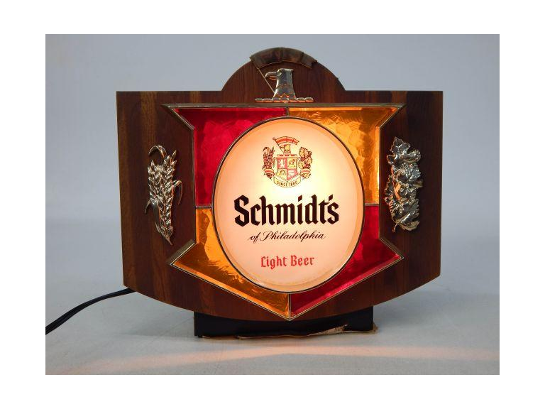 Schmidt Light-Up Beer Sign