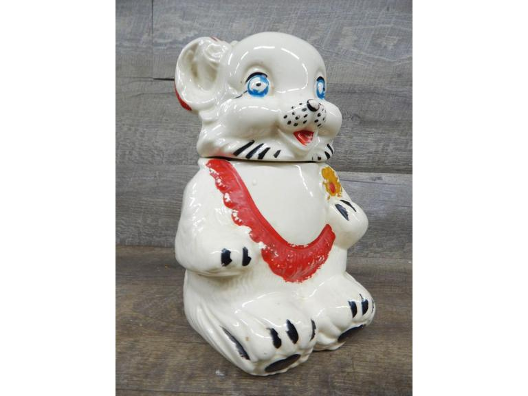 Royal Ware Pottery Cookie Jar