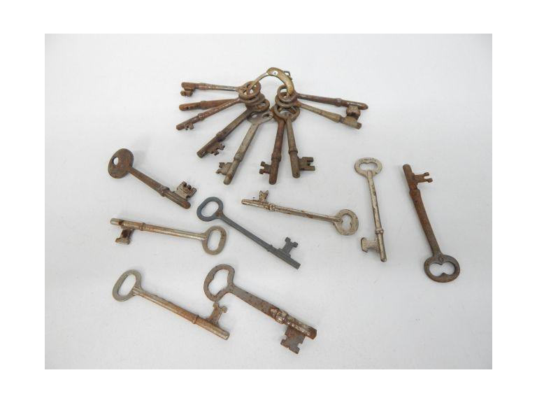 Vintage Collection of Skeleton Keys