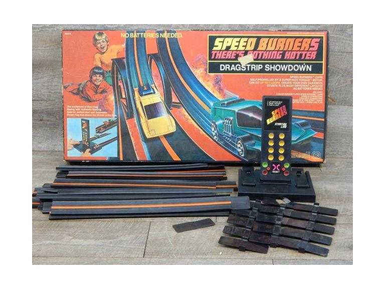 Vintage Mego Corp. Speed Burners Track Set