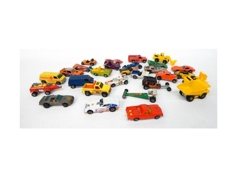Collection of 1970's Hot Wheels Cars