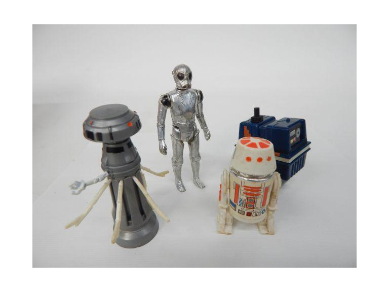 1979 & 80 Star Wars Droid Action Figures