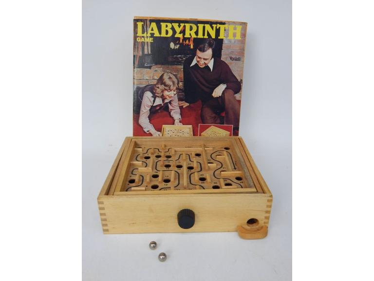 Labyrinth Wooden Skill Game