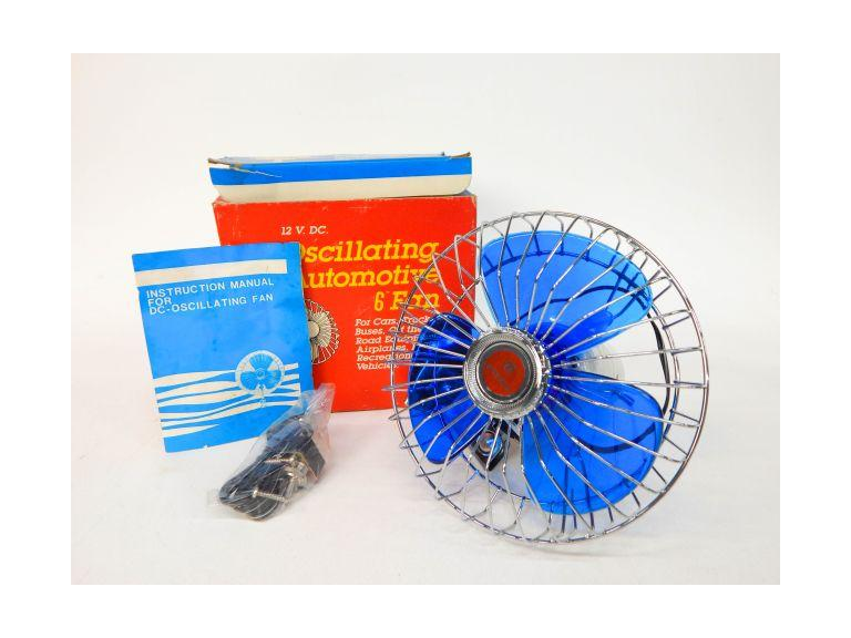 New Old Stock 12 Volt Car Fan