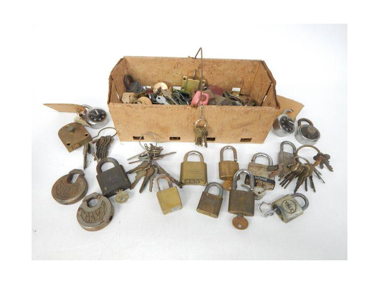 Collection of Old Locks and Keys