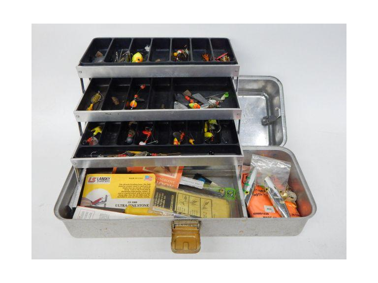Old Tacklebox Full of Tackle