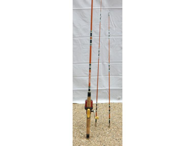 Vintage True Temper Uni Spin 3-Tip Fishing Rod