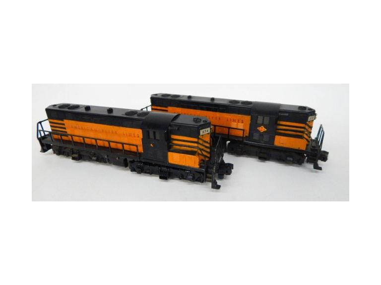 American Flyer 374 & 375 Diesel Locomotive Set