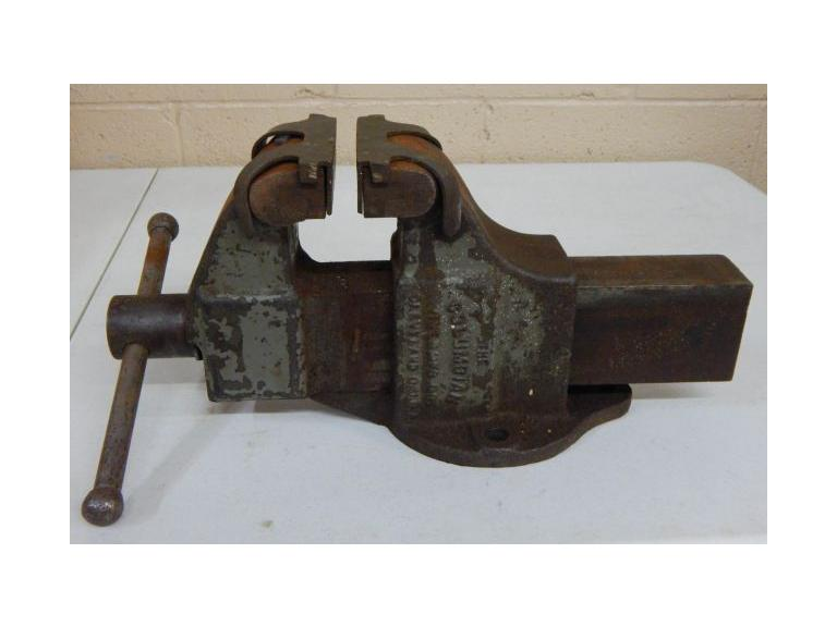 Heavy Duty Columbian 4'' Bench Vise