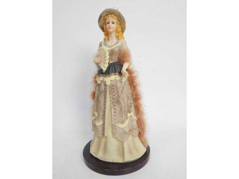 Tall Victorian Lady Statue