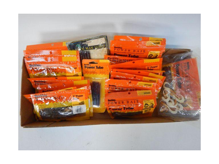 Collection of  Soft Tube Baits