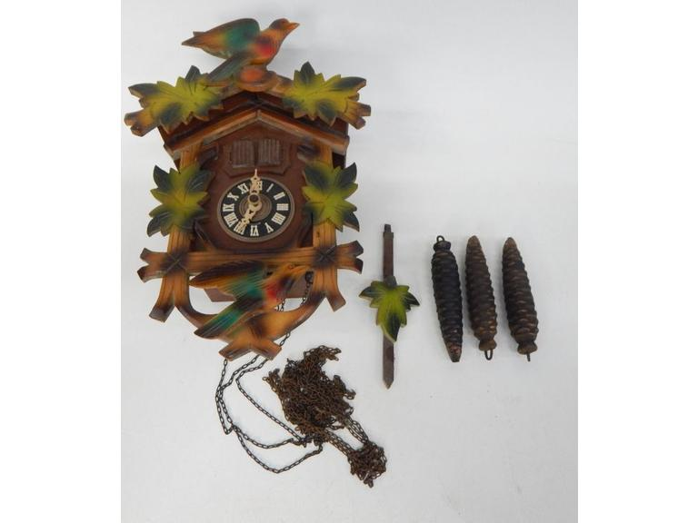 Vintage West German Cuckoo Clock