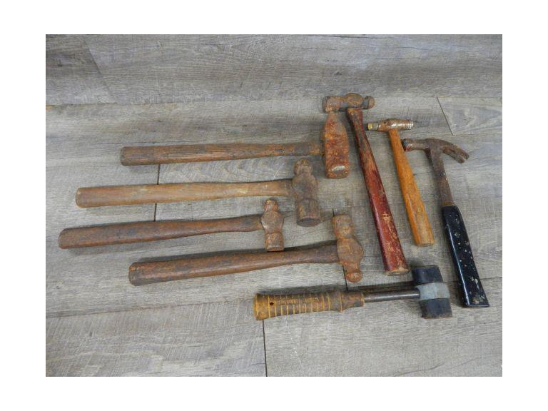 Collection of Heavy Duty Hammers