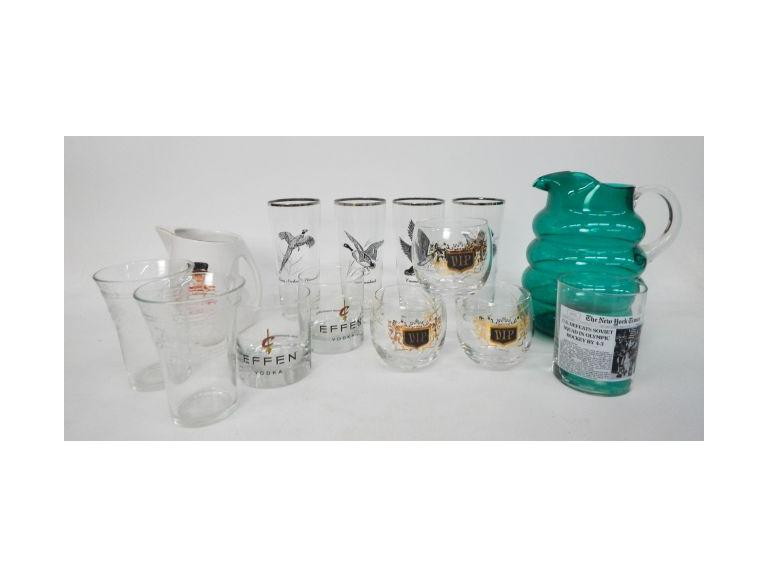 Barware Glasses  and More