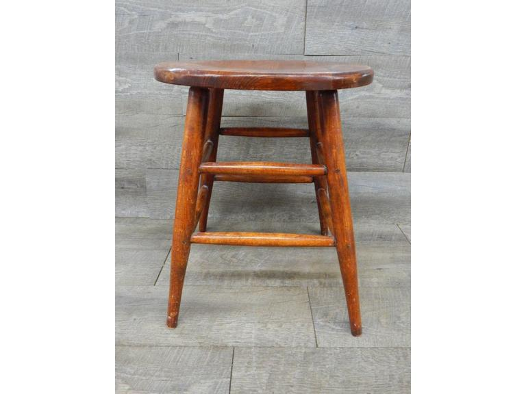 Solid Wood 17 1/2'' Stool