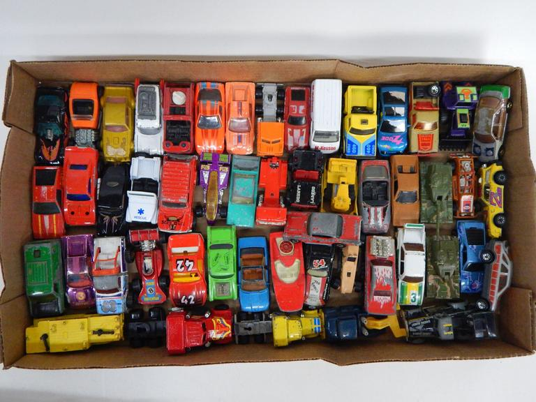 Large Collection of Die-Cast Cars