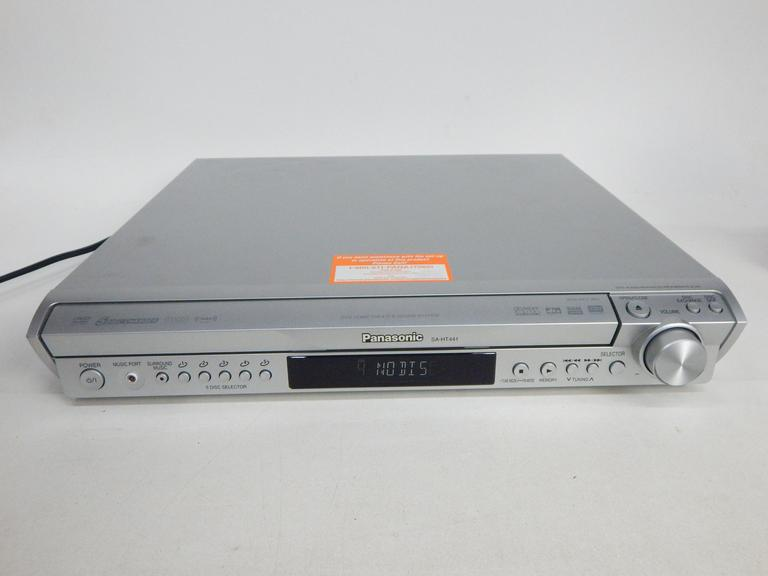 Panasonic 5Disc DVD Player with the Transceiver