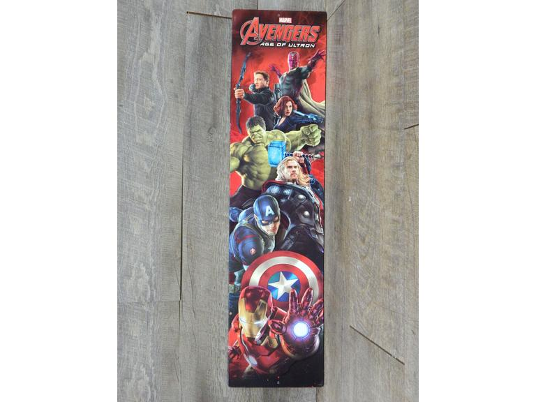 Avengers Embossed Metal Sign