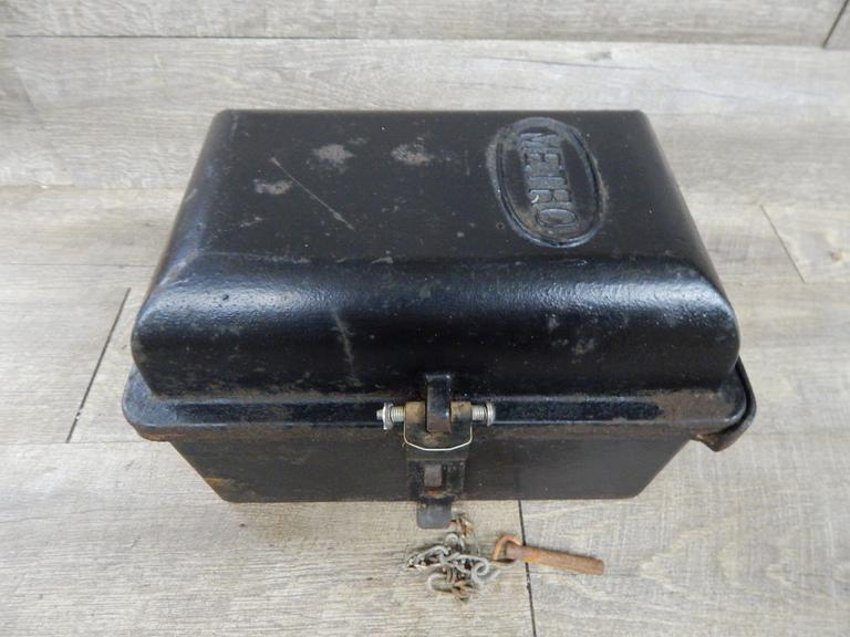 Vintage Cast Iron Cased Police Call Box