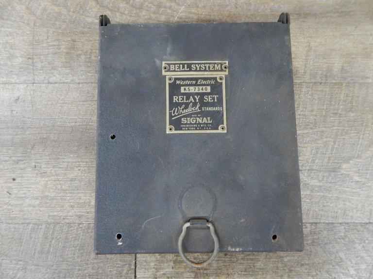 Old Bell Systems Relay Set Box