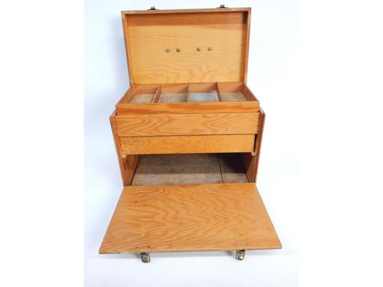 Hand Crafted Wooden Toolbox