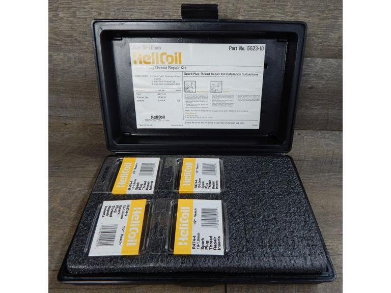 Helicoil Spark Plug Thread Repair Kit