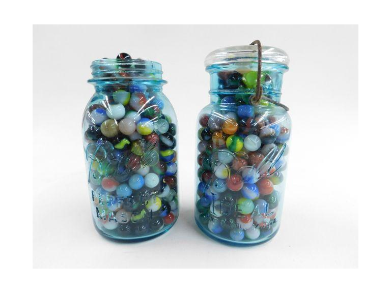 Jars Full of Marbles