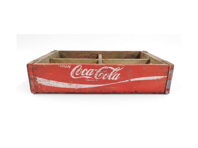 1972 Chattanooga Coca Cola Wood Crate
