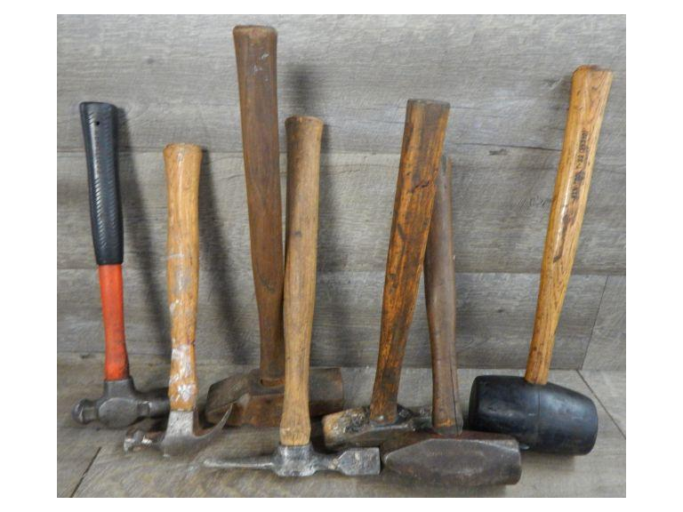 Collection of various Hammers