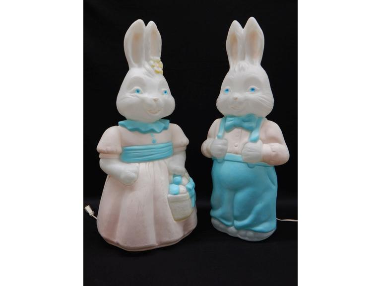 Empire Plastics Easter Bunny Blow Molds