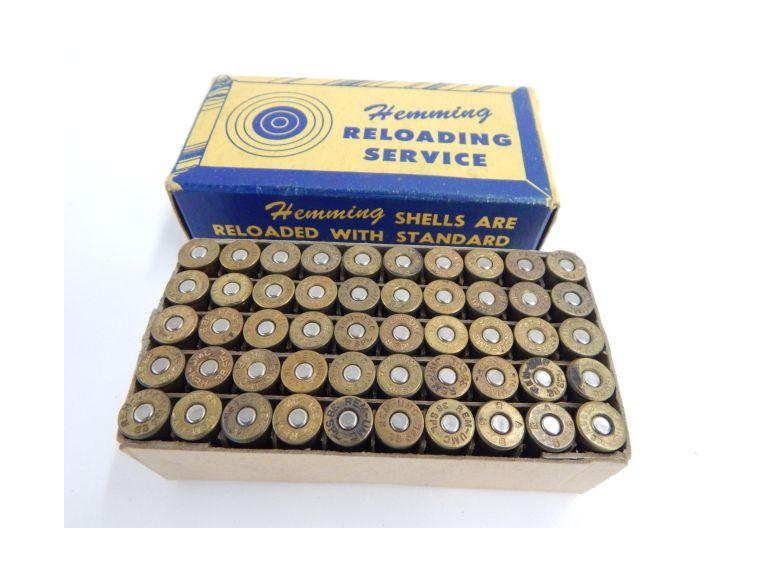 Box of Flemming 38 Special Reloaded Shells