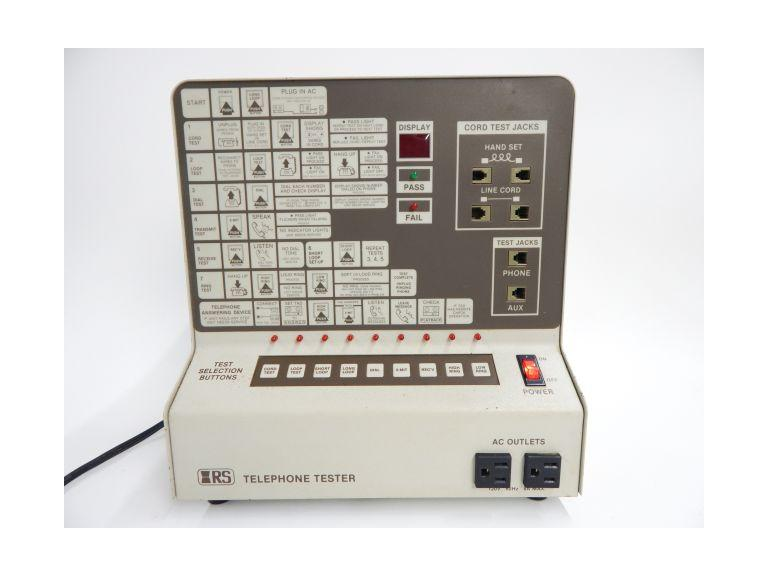 Vintage RS Telephone Tester Unit