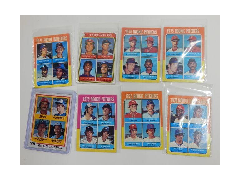 1974 -1978 Topps Rookie Cards