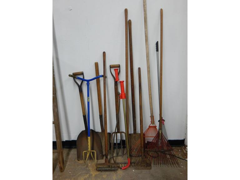 Collection of Yard & Garden Tools