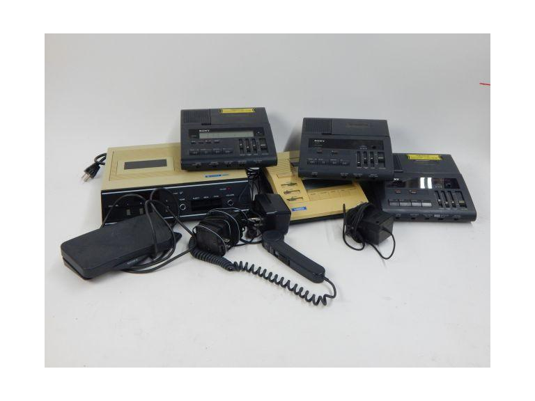 Collection of Dictaphones